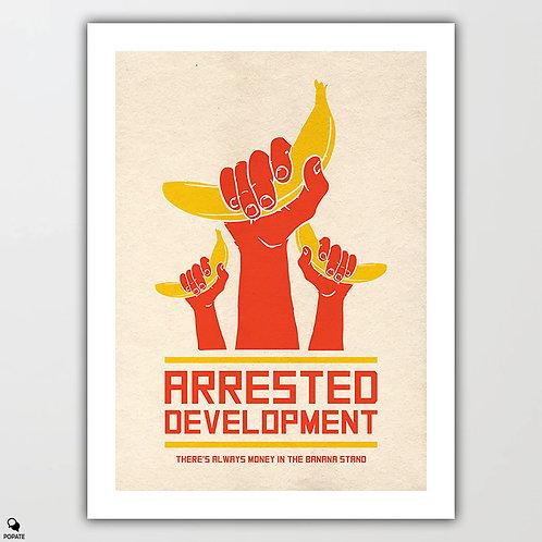 Arrested Development Alternative Poster - Banana