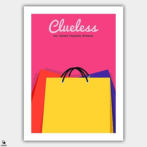 Clueless Minimalist Alternative Poster