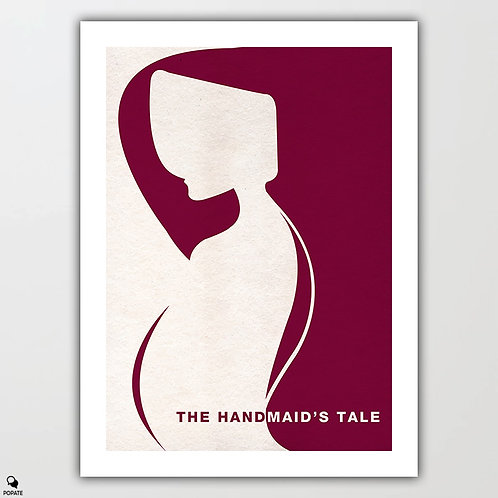 The Handmaid's Tale Minimalist Poster - Blessed Be The Fruit