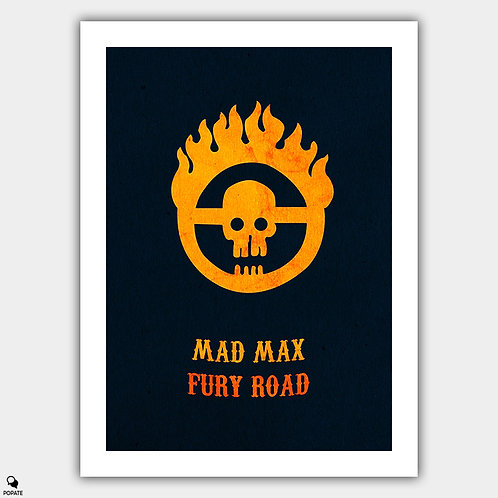 Mad Max Fury Road Minimalist Poster