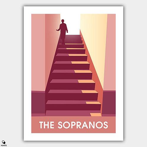 The Sopranos Minimalist Poster - Madonna
