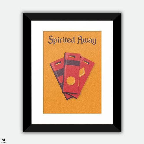 Spirited Away Minimalist Framed Print
