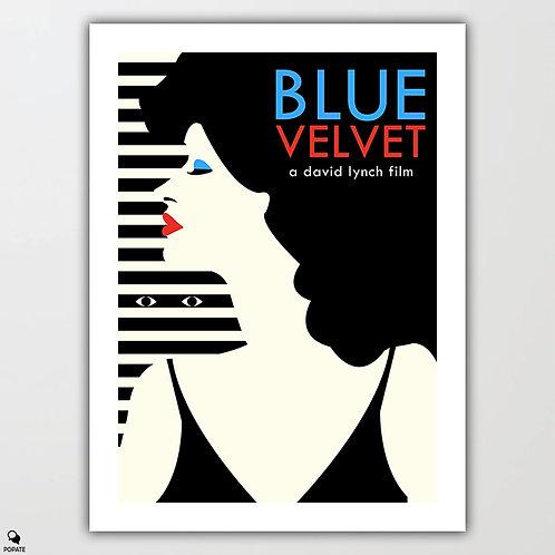 Blue Velvet Minimalist Poster - Dorothy