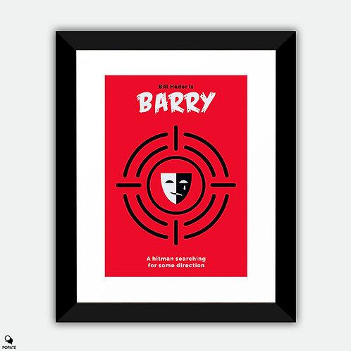 Barry Minimalist Framed Print