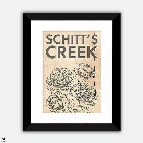 Schitt's Creek Alternative Framed Print - Roses