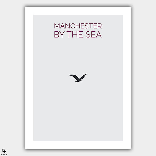 Manchester By The Sea Minimalist Poster - Bird