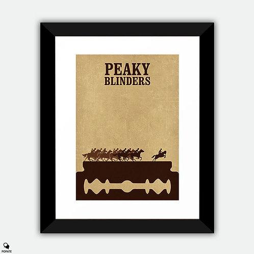 Peaky Blinders Vintage Framed Print