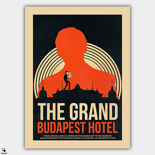 The Grand Budapest Hotel Vintage Poster