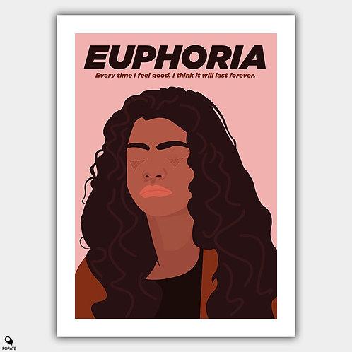 Euphoria Minimalist Poster - Rue