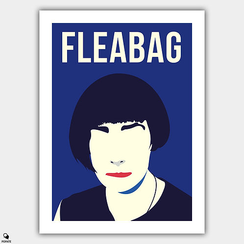 Fleabag Minimalist Poster - Hair is Everything