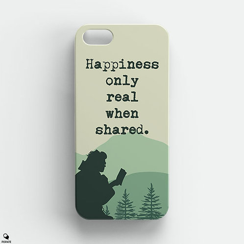 Happiness Only Real When Shared iPhone Case from Into The Wild