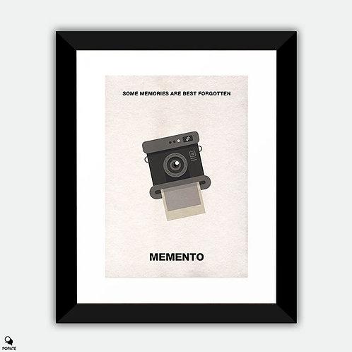 Memento Minimalist Framed Print - Camera