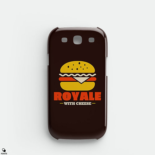 Royale With Cheese Alternative Galaxy Phone Case from Pulp Fiction