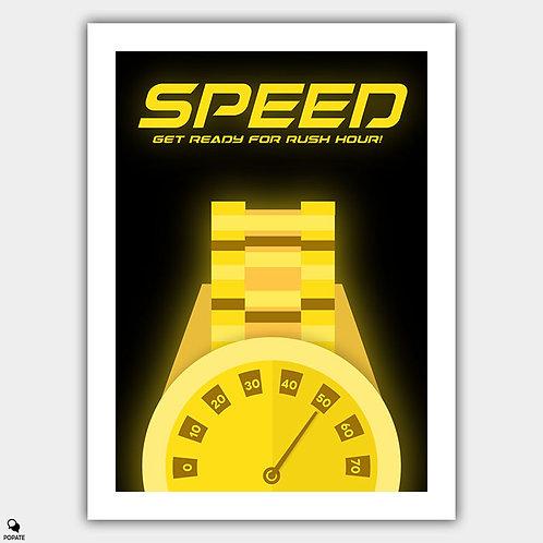 Speed Alternative Poster
