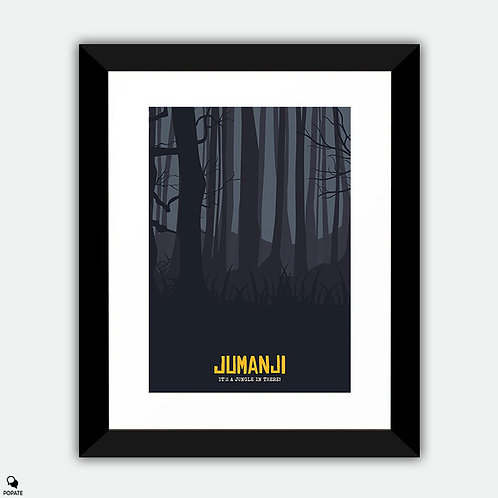 Jumanji Alternative Framed Print