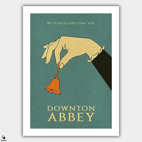 Downton Abbey Vintage Poster
