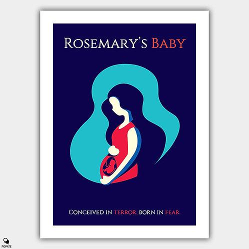 Rosemary's Baby Alternative Poster - Demon