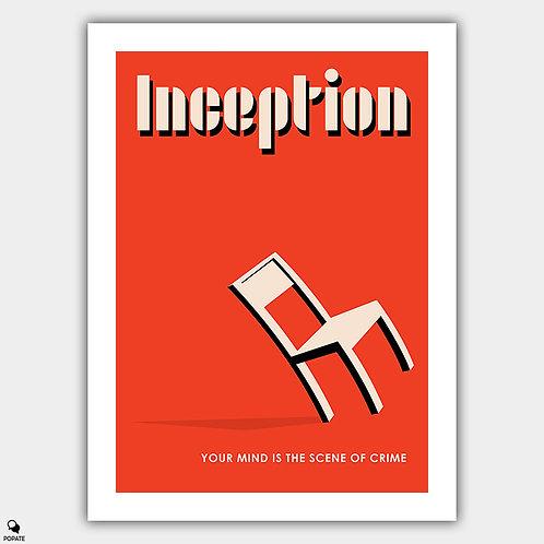 Inception Vintage Bauhaus Poster