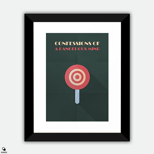 Confessions Of A Dangerous Mind Minimalist Framed Print