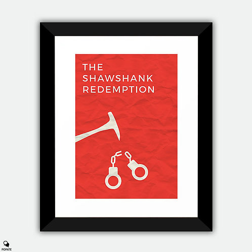 The Shawshank Redemption Minimalist Framed Print