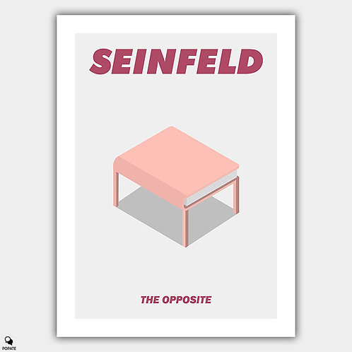 Seinfeld Minimalist Poster - The Opposite