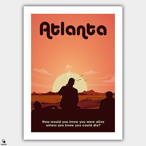 Atlanta Alternative Poster - Crabs in a Barrel