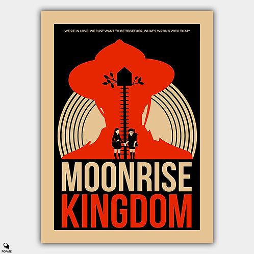 Moonrise Kingdom Vintage Alternative Poster