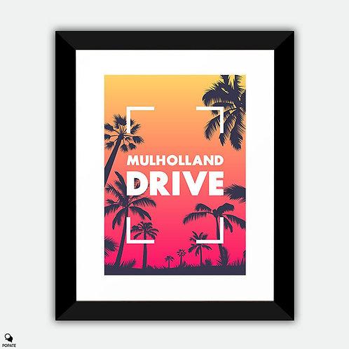 Mulholland Drive Alternative Framed Print