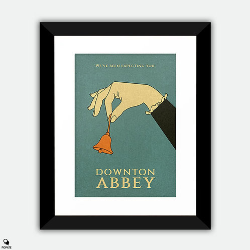Downton Abbey Vintage Framed Print