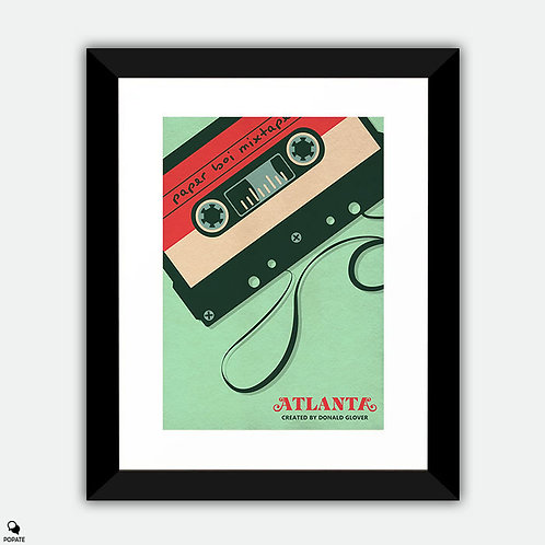Atlanta Alternative Framed Print - Mixtape