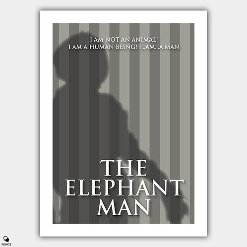 The Elephant Man Minimalist Poster