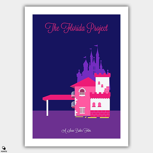 The Florida Project Minimalist Poster