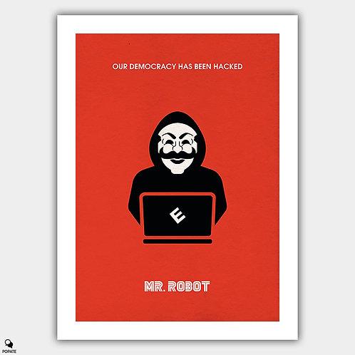 Mr. Robot Alternative Poster - Hacking