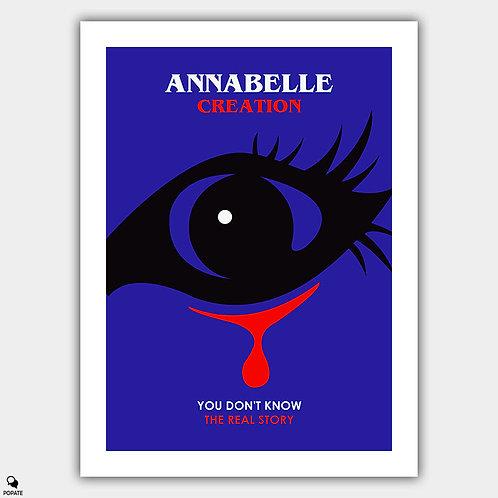 Annabelle Creation Minimalist Poster