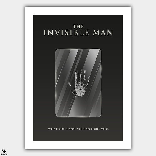 The Invisible Man Minimalist Poster