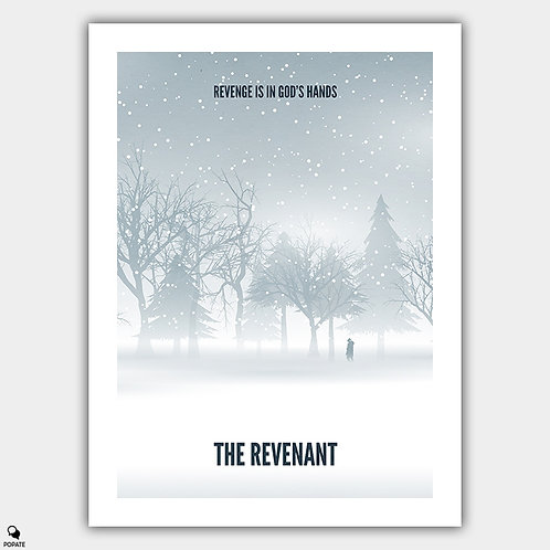 The Revenant Alternative Poster - Landscape