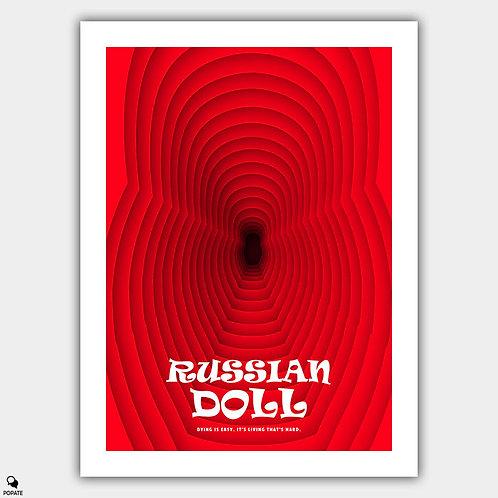 Russian Doll Minimalist Poster