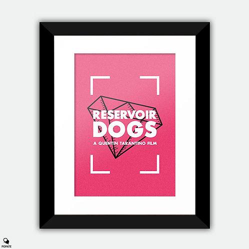 Reservoir Dogs Vintage Framed Print - Mr Pink
