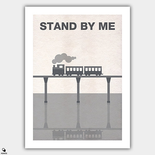 Stand By Me Minimalist Poster