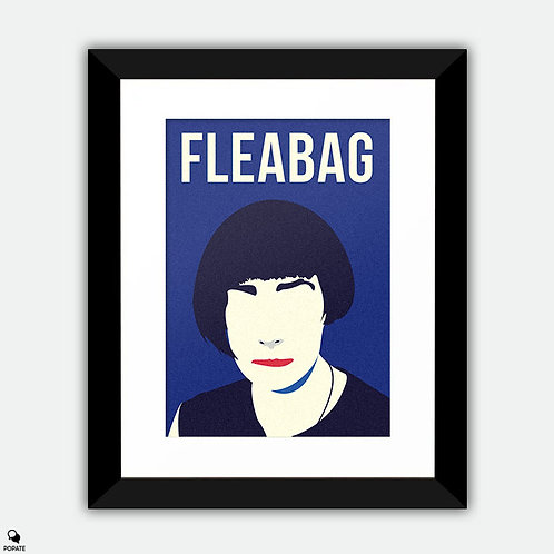 Fleabag Minimalist Framed Print - Hair is Everything