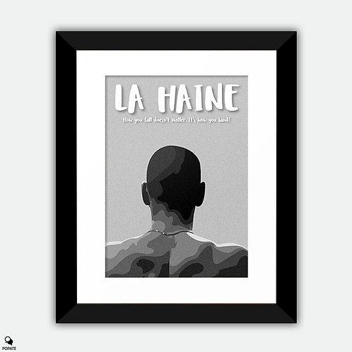 La Haine Minimalist Framed Print