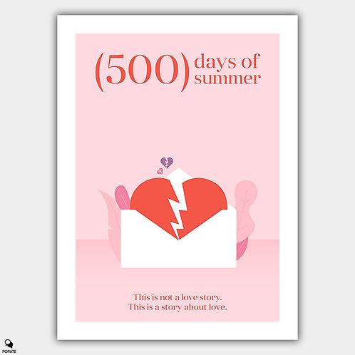 500 Days of Summer Minimalist Poster
