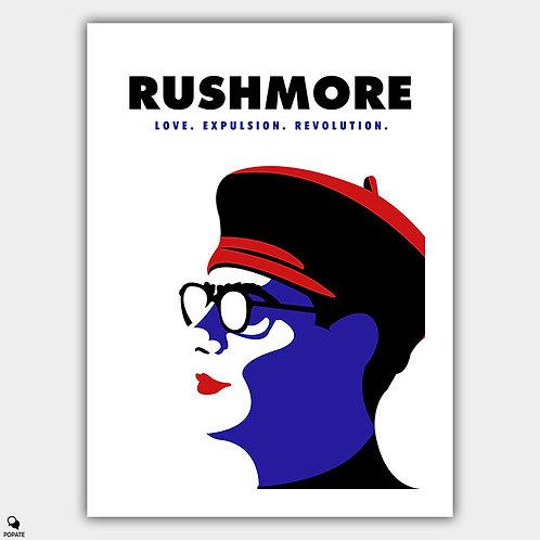 Rushmore Minimalist Poster