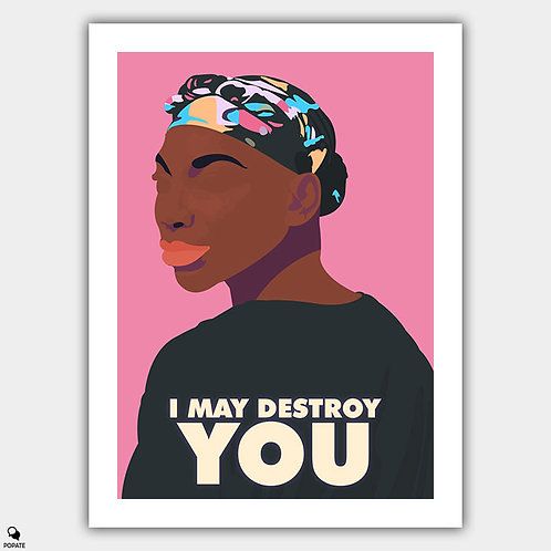 I May Destroy You Minimalist Poster - Alliance