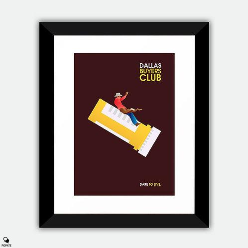 Dallas Buyers Club Minimalist Framed Print
