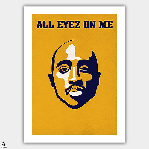 All Eyez On Me Alternative Poster