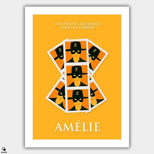 Amélie Minimalist Poster