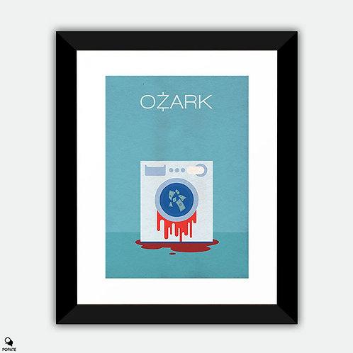 Ozark Minimalist Framed Print