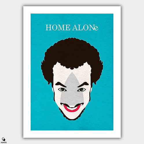 Home Alone Minimalist Poster - Marv