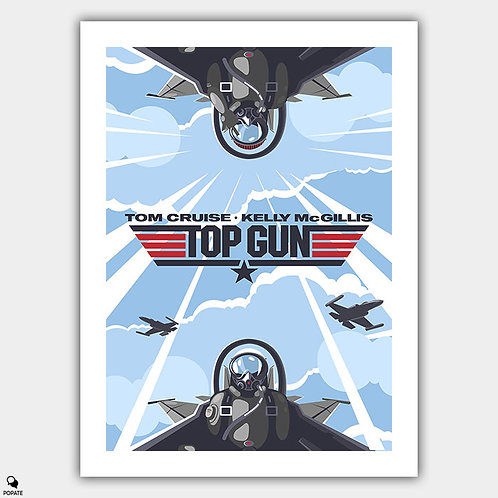 Top Gun Alternative Poster - Birdy